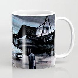 ASTON MARTIN AUTOMOBILE AT ENGLISH HARBOUR Coffee Mug