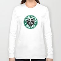 starwars Long Sleeve T-shirts featuring StarWars Coffee by Unicity
