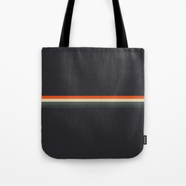 Fujitaka - Classic Dark Retro Stripes Tote Bag