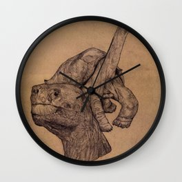 Lonely George  Wall Clock