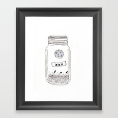 Moonshine Framed Art Print