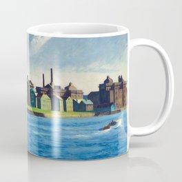 Roosevelt Island, New York City by Edward Hopper Coffee Mug
