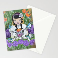 Word is Bond Stationery Cards