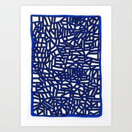 Landforms Series - StoneRoses #13 Art Print