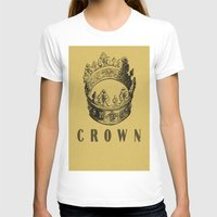 crown T-shirts featuring Crown by NYLONPISTOL