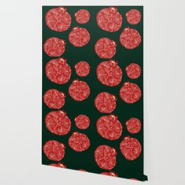 Pomegranate pattern Wallpaper
