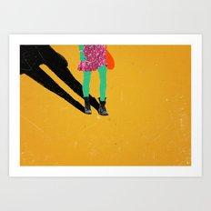 justine Art Print