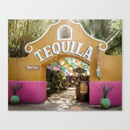 Tequila Tasting Canvas Print