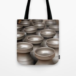 Drying Pots Bhakatpur Tote Bag