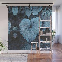 Blue Blue Heart Wall Mural