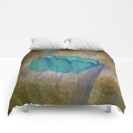 Modern Tulips Comforters