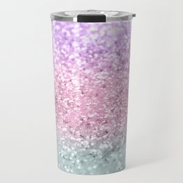 Unicorn Girls Glitter #7a #shiny #pastel #decor #art #society6 Travel Mug