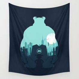 Welcome To Monsters, Inc. Wall Tapestry
