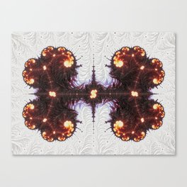 Organized Kaos Canvas Print