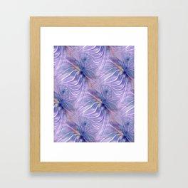 flamepattern -4- Framed Art Print