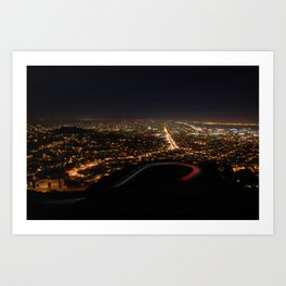San Francisco, CA Art Print