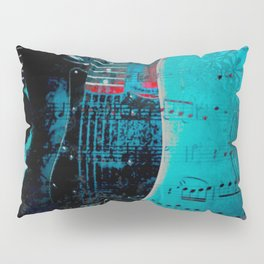 TURQUOISE GUITARS Pillow Sham