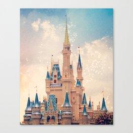 Cinderella's Castle Canvas Print