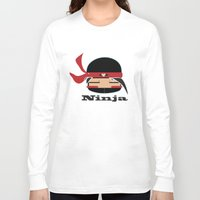 ninja Long Sleeve T-shirts featuring Ninja by Ninbun