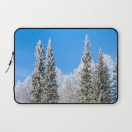 Frozen forest Laptop Sleeve