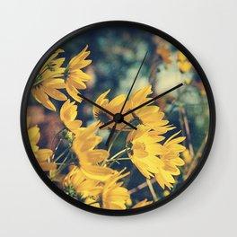 Sunny Autumn Breezes Wall Clock