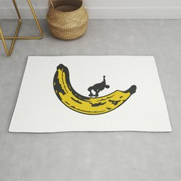 Banana Boarder Rug