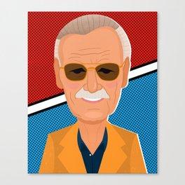 Stan Lee Canvas Print