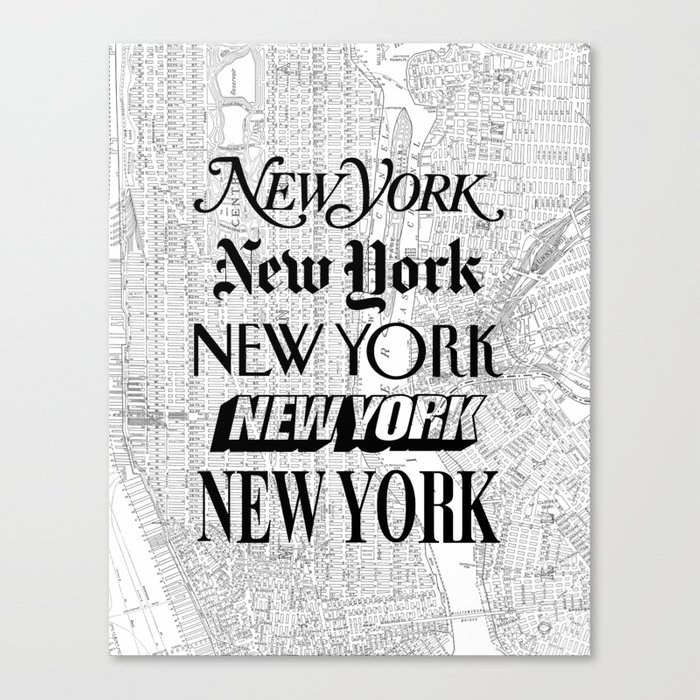 New York City black and white New York poster I love heart NYC Design black-white home wall decor Leinwanddruck