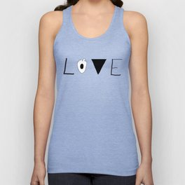LOVE just a WORD Unisex Tank Top