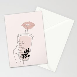 Boba is Life Stationery Cards