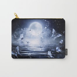 Night Butterflys Carry-All Pouch