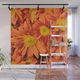Petals a L'orange Wall Mural
