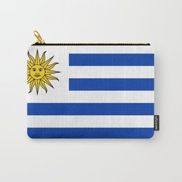 flag of Uruguay-Uruguyan,montevideo,spanish,america,latine,Salto,south america,paysandu,costa,sun,be Carry-All Pouch