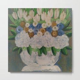 Majestic Flowers Metal Print