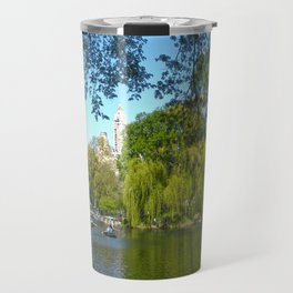 The boathouse at Central Park - NYC Travel Mug