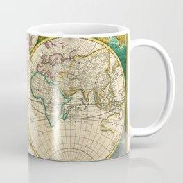 "Frederik de Wit ""Worldmap"" title Nova Orbis Tabula, In Lucem Edita (1670) Coffee Mug"