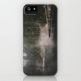 In the Fog - Landscape Photography iPhone Case