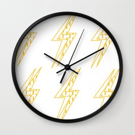 BLINDED LIGHT Wall Clock