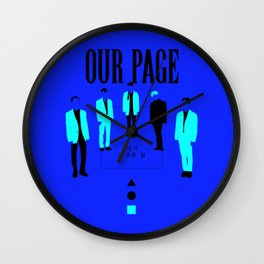 SHINee - Our Page Wall Clock