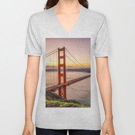 San Francisco 03 - USA Unisex V-Neck