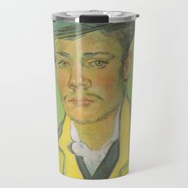 Vincent van Gogh - Portrait of Armand Roulin with the age of 17 Travel Mug