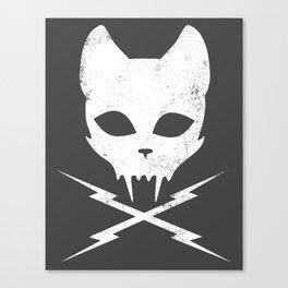 Stunt Kitty Canvas Print