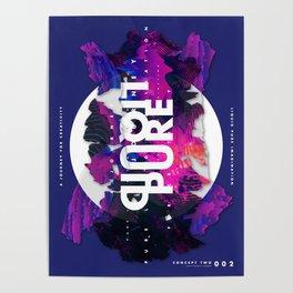 Pure Liquid Imagination : Concept 2 Poster