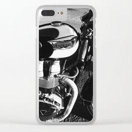 Triumph Clear iPhone Case