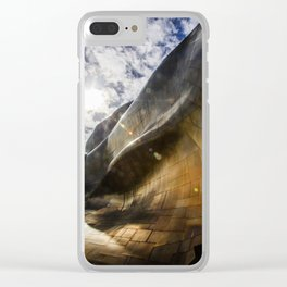 Architectural Geometry / 3 Clear iPhone Case