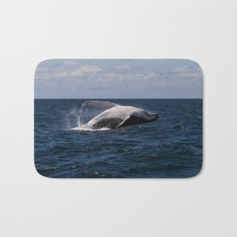 Humpback Whale Breaching Bath Mat