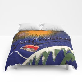 Turin Torino Italian Alps winter travel Comforters