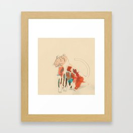 Rare Tiger Framed Art Print