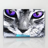 thundercats iPad Cases featuring Purple eyes Cat by Augustinet