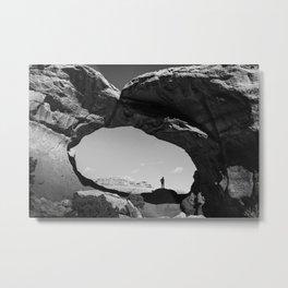broken arch Metal Print